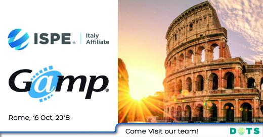 ISPE Gamp Roma DOTS